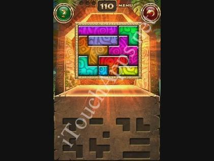 Montezuma Puzzle Level 110 Solution