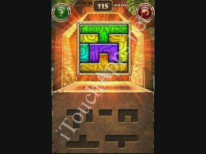 Montezuma Puzzle Level 115 Solution