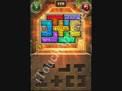 Montezuma Puzzle Level 119 Solution