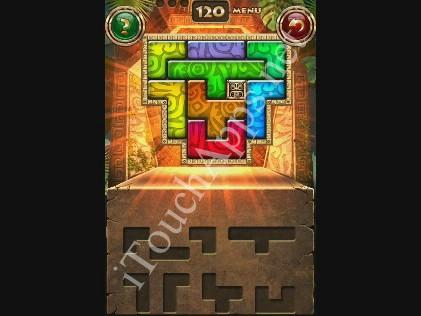 Montezuma Puzzle Level 120 Solution