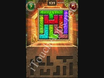 Montezuma Puzzle Level 121 Solution