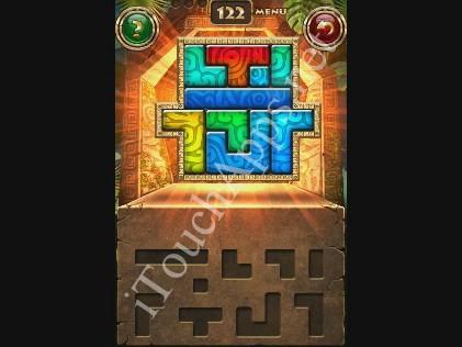 Montezuma Puzzle Level 122 Solution