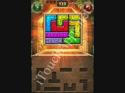 Montezuma Puzzle Level 123 Solution