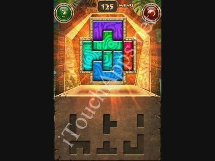 Montezuma Puzzle Level 125 Solution