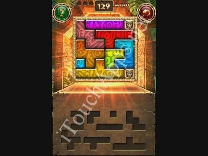 Montezuma Puzzle Level 129 Solution