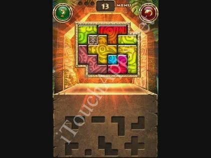 Montezuma Puzzle Level 13 Solution