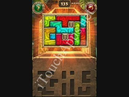 Montezuma Puzzle Level 135 Solution