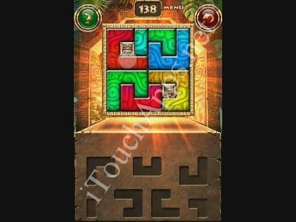 Montezuma Puzzle Level 138 Solution