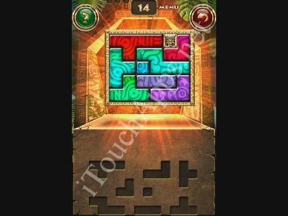 Montezuma Puzzle Level 14 Solution