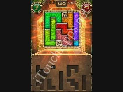 Montezuma Puzzle Level 140 Solution