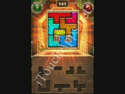 Montezuma Puzzle Level 141 Solution
