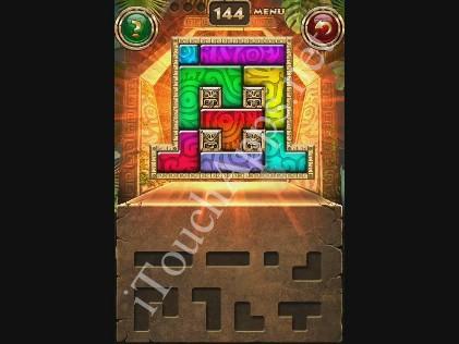 Montezuma Puzzle Level 144 Solution