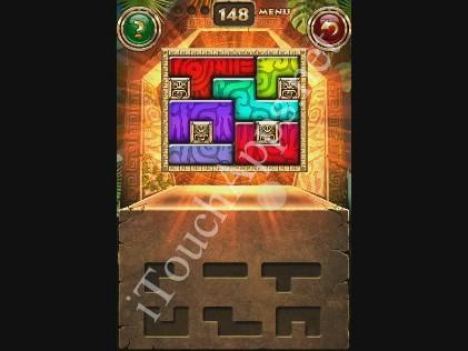 Montezuma Puzzle Level 148 Solution