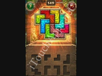 Montezuma Puzzle Level 149 Solution
