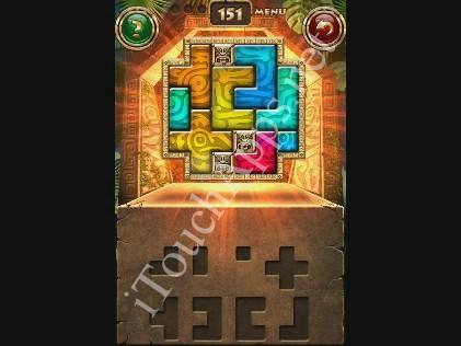 Montezuma Puzzle Level 151 Solution
