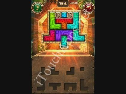 Montezuma Puzzle Level 154 Solution