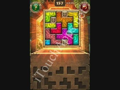 Montezuma Puzzle Level 157 Solution