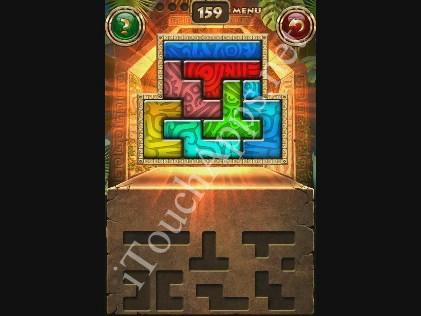 Montezuma Puzzle Level 159 Solution