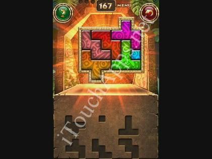 Montezuma Puzzle Level 167 Solution