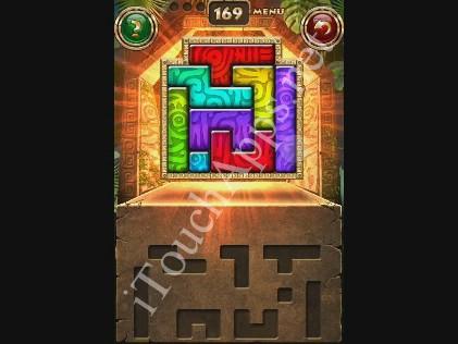Montezuma Puzzle Level 169 Solution