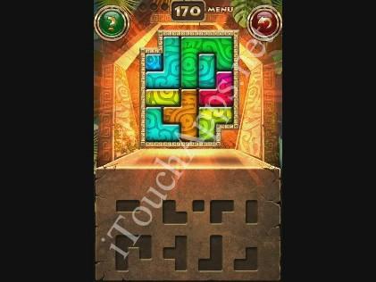 Montezuma Puzzle Level 170 Solution