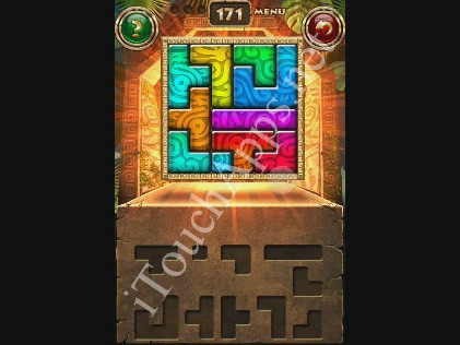 Montezuma Puzzle Level 171 Solution