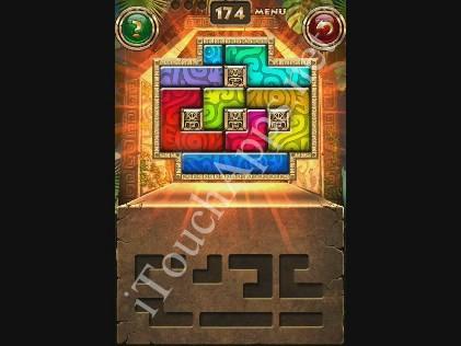 Montezuma Puzzle Level 174 Solution