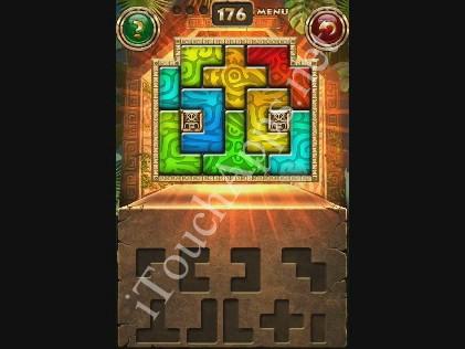 Montezuma Puzzle Level 176 Solution