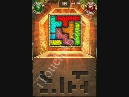 Montezuma Puzzle Level 18 Solution