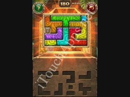 Montezuma Puzzle Level 180 Solution