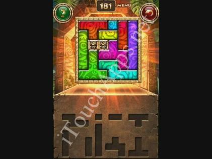 Montezuma Puzzle Level 181 Solution