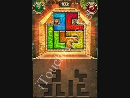Montezuma Puzzle Level 182 Solution