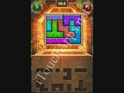 Montezuma Puzzle Level 184 Solution