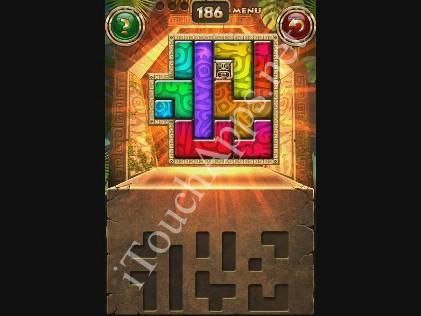 Montezuma Puzzle Level 186 Solution