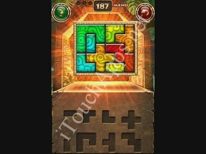 Montezuma Puzzle Level 187 Solution