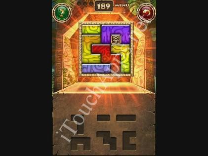 Montezuma Puzzle Level 189 Solution