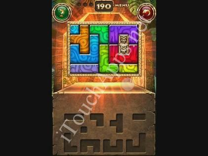 Montezuma Puzzle Level 190 Solution