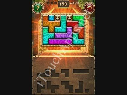 Montezuma Puzzle Level 193 Solution