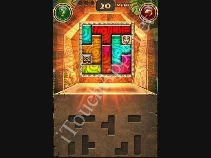 Montezuma Puzzle Level 20 Solution