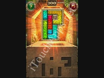 Montezuma Puzzle Level 200 Solution