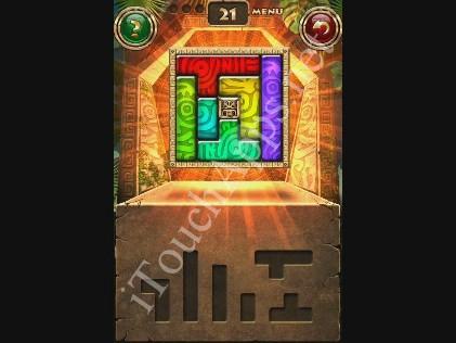 Montezuma Puzzle Level 21 Solution