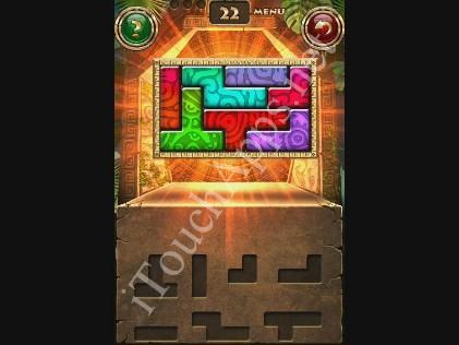 Montezuma Puzzle Level 22 Solution