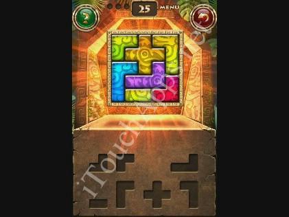 Montezuma Puzzle Level 25 Solution