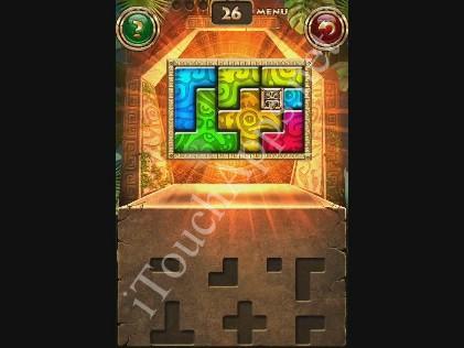 Montezuma Puzzle Level 26 Solution