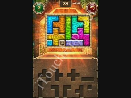 Montezuma Puzzle Level 28 Solution