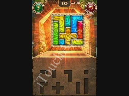 Montezuma Puzzle Level 30 Solution