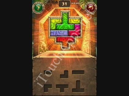 Montezuma Puzzle Level 31 Solution