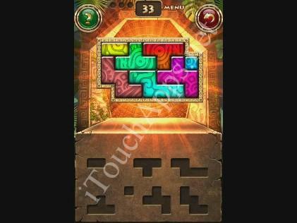 Montezuma Puzzle Level 33 Solution