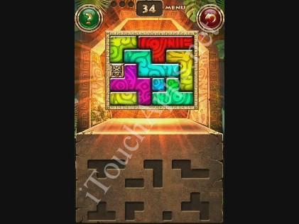 Montezuma Puzzle Level 34 Solution