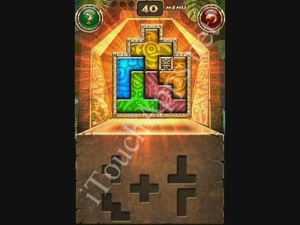Montezuma Puzzle Level 40 Solution